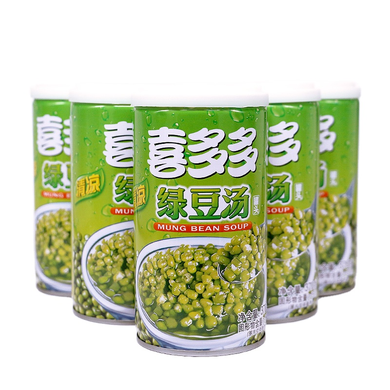 Selected Mung Beans Green Instant Fruit Juice Drink Tin Cans Beans Soup