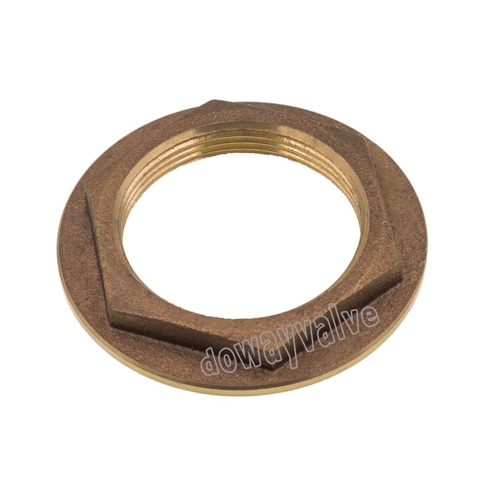 Bronze Combo Scoop Thru-Hull Fitting with Nut