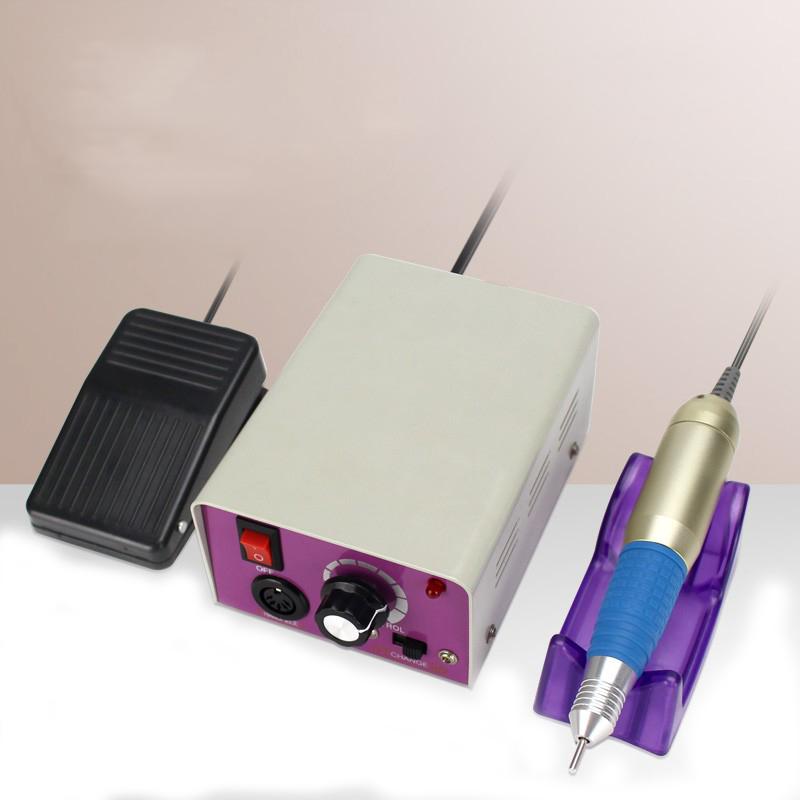 Низкая цена, высокоскоростная электрическая машинка для маникюра и педикюра, шлифовальная машинка для ногтей