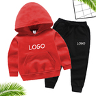 Wholesale Long Sleeve Sport T Shirt Pants Custom Children'S Suit Kids Sweat Suits Kids Toddler Boys Clothing Sets Boys