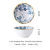 (2)  Japanese Octagonal Bowl