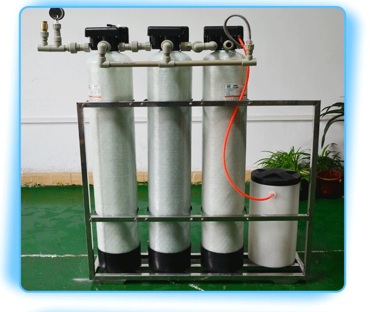 quartz sand activated carbon softening resin electric water filter purifier system automatic water softener
