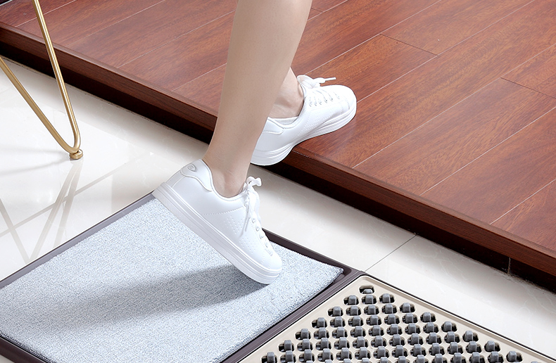 Антибактериальная нескользящая резиновая дезинфицирующая подошва для обуви, дезинфекция ног, дезинфицирующий дверной коврик