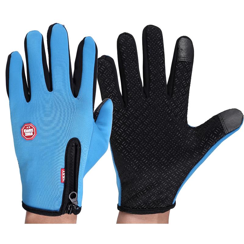 Хорошие продажи, для использования на открытом воздухе, из водонепроницаемого материала для мужчин и женщин с защитой от ветра от теплые сапоги для верховой езды на молнии спортивные альпинистские лыжные перчатки в осенне-зимний период