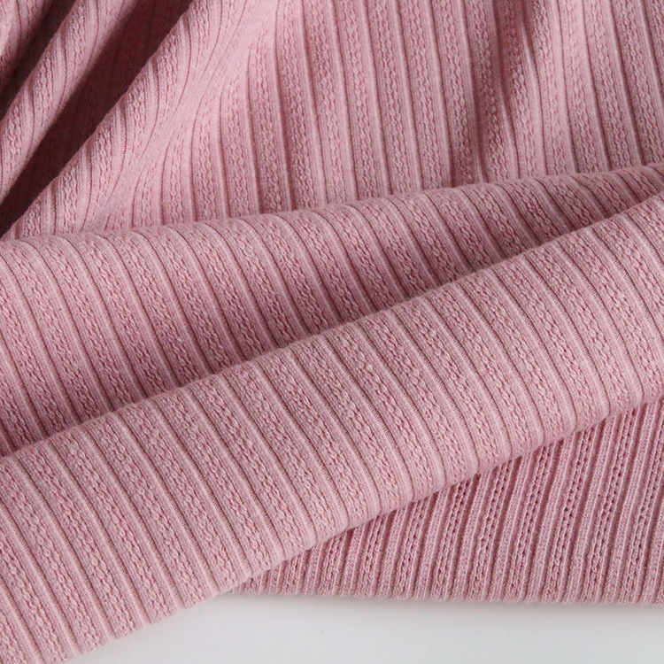 9119# 220gsm 32% cotton 63% polyester and 5% spandex small jacquard knit thermal fabric