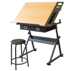 Drawing Drafting Table Manufacturer Adjustable Height Steel Drawing Desk Drafting Table Architect Drafting Table For Children And Adult