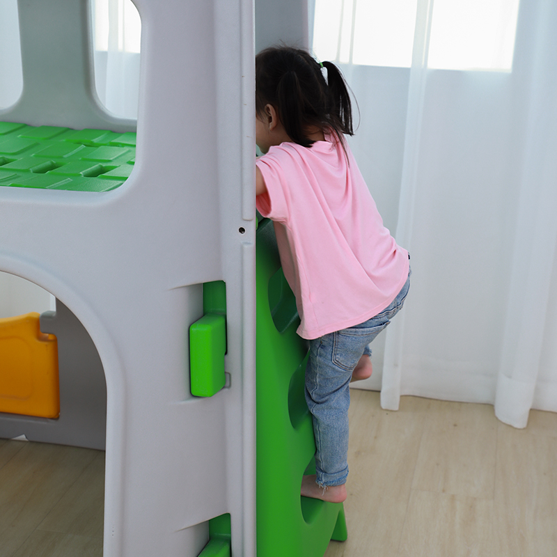 Hot Sale Kids Baby Slide Outdoor Indoor Playground Equipment Plastic Slide With Swing Set For Sale