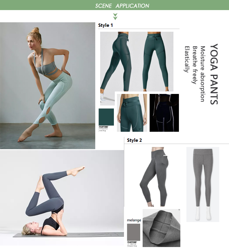 2020 New High Stretch Polyester Spandex Breathable Quick Dry Lululemon Yoga Pants Bras Fabric