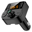 Hot sell wireless car charger with BT Hands Free car bluetooth fm transmitter