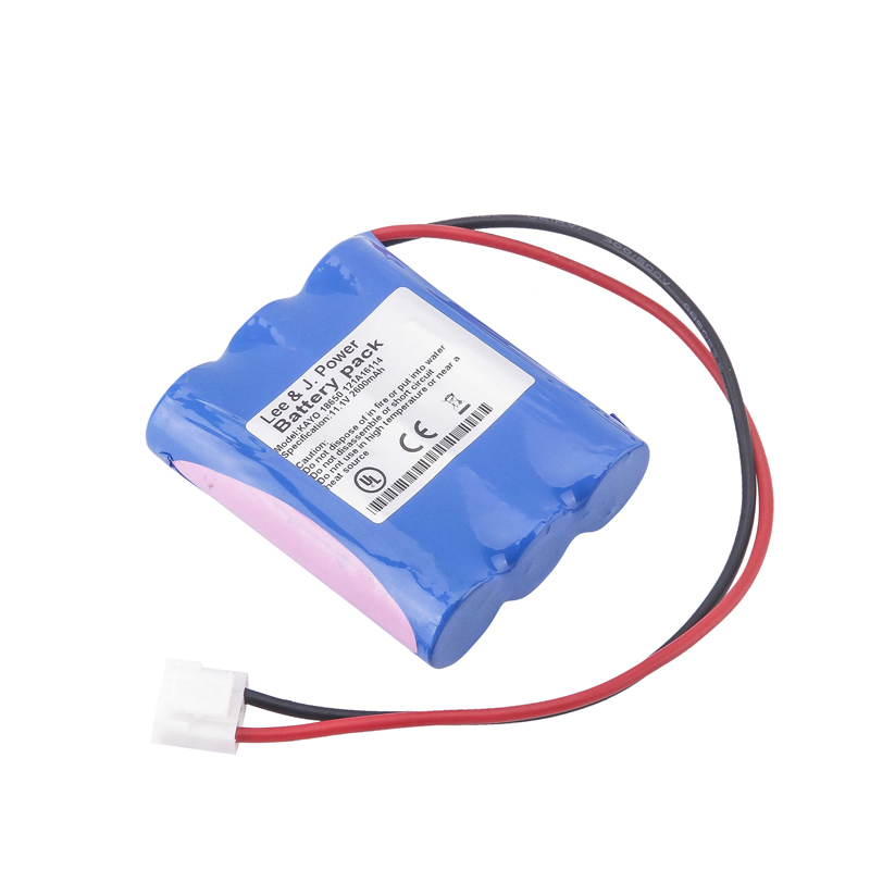perlong KAYO 18650 11.1V 2600mAh battery Compatible for Vital Signs Monitor