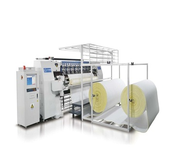 Used Quilting Machine Mattress Sewing Automatic Making Price Computer Duvet Stitching Multi Needle Continuous Fabric