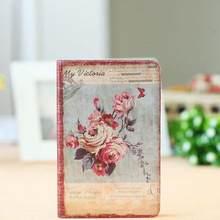 Jingu цветочный ноутбук, Европейский ретро тканевый чехол для ноутбука, персональный дневник, винтажный ноутбук, корейские Канцтовары, школьн...(Китай)