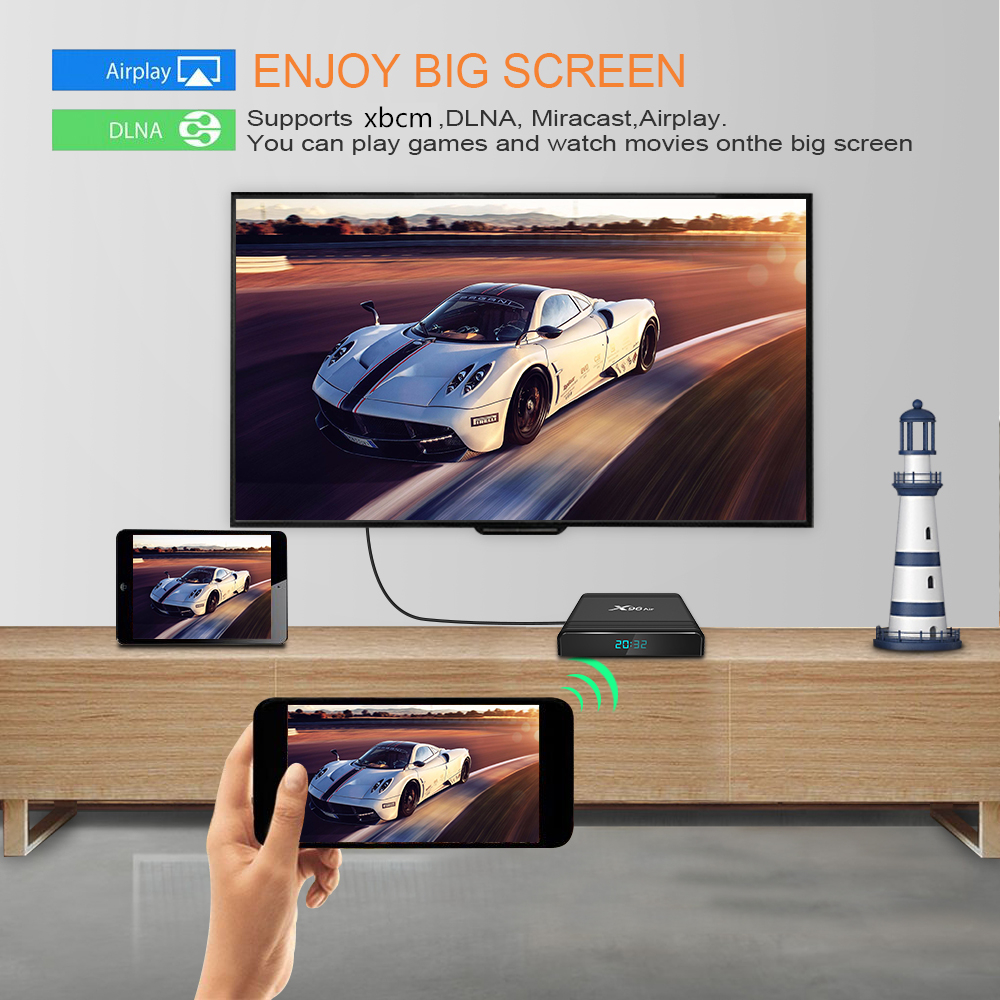 2019 новейший чипсет X96 air 4 ГБ 32 ГБ 64 Гб amlogic s905x3 tv box android 4k iptv box