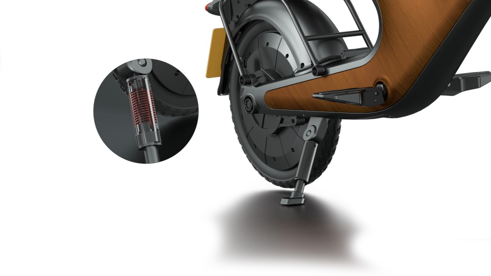 2021 scootermagnesium алюминиевая рама 3-х скоростной 48V * 400W 48V/10.4Ah литиевая батарея электронной скутер с удобное седло