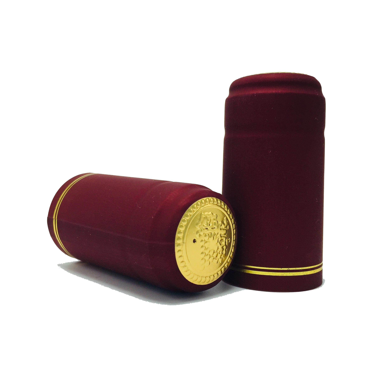 Термоусадочная крышка для бутылки вина из ПВХ и алюминиевой фольги