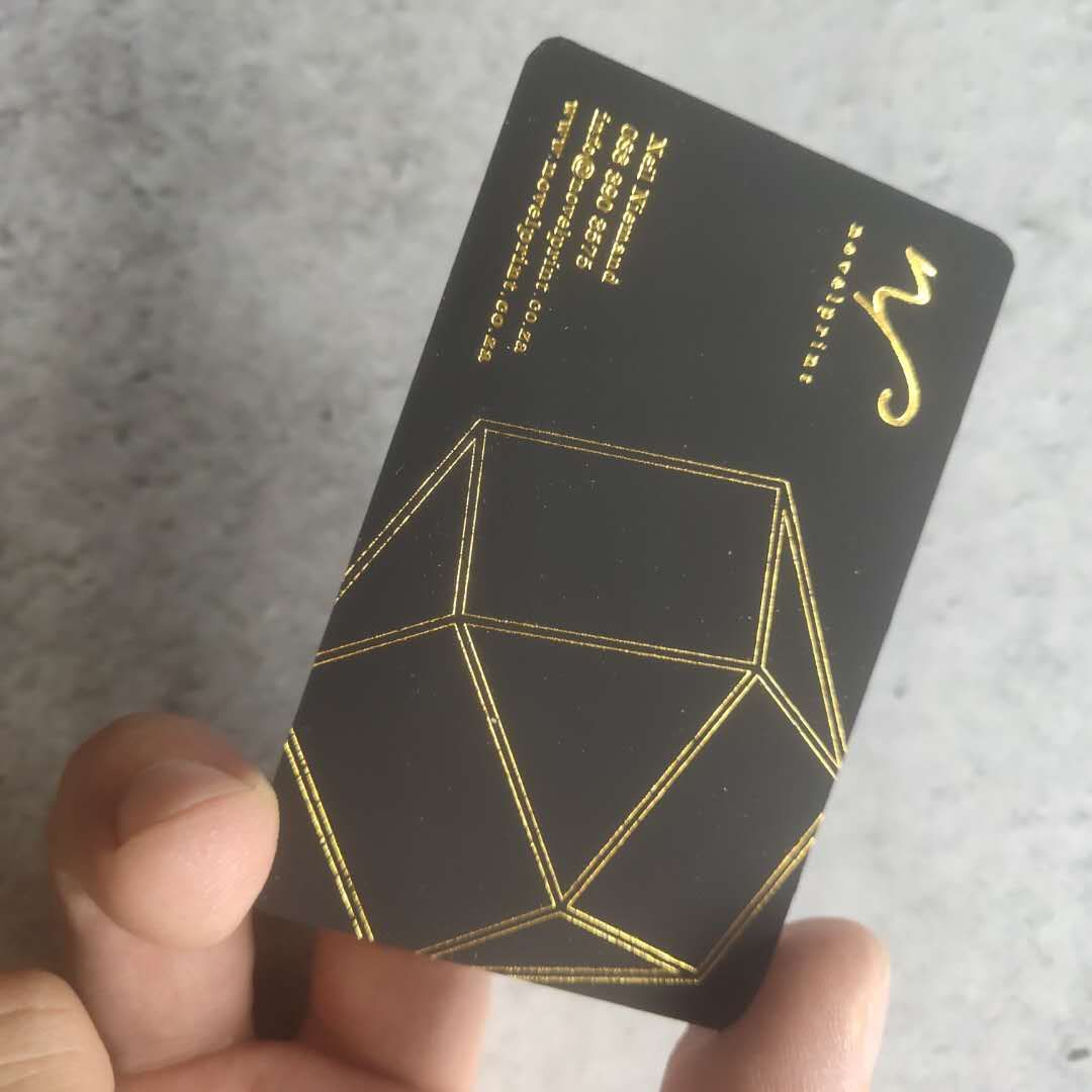 Luxury gold foil Business Cards