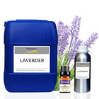 Essential Manufacturer Wholesale 1kg Private Label Lavender Peppermint Barreled Aromatherapy Pure Bulk Essential Oil