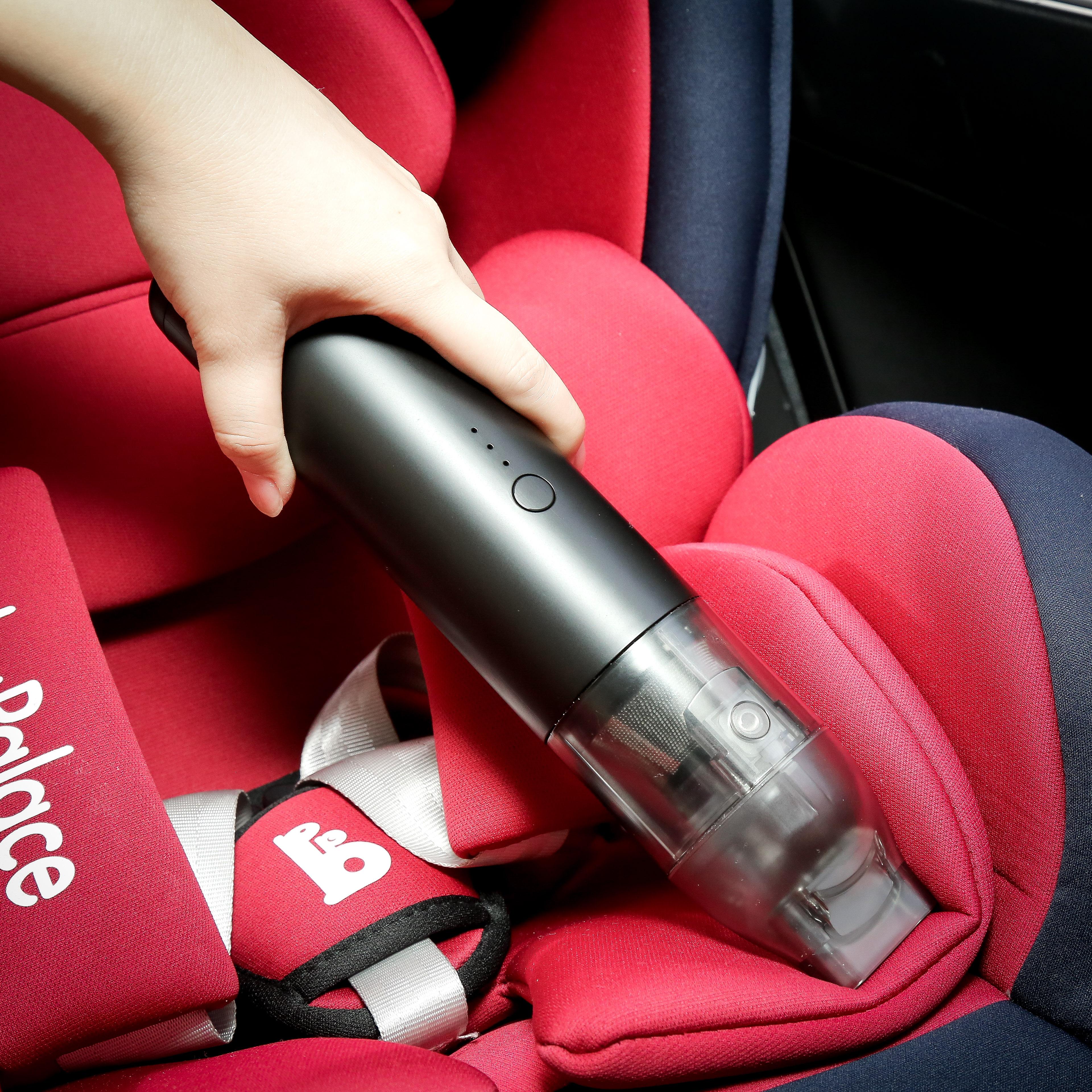 Портативный автомобильный Staubsauger умный беспроводной портативный автоматический вакуумный 5000Pa всасывания для домашних настольных для чистки мини-пылесос