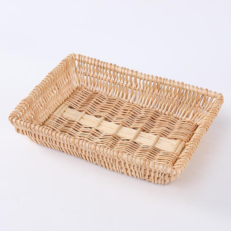 Маленькие подарочные плетеные корзины для фруктов и хлеба со скидкой