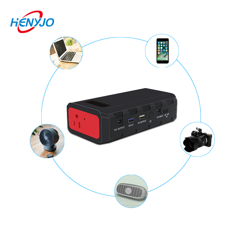 Travel Charger Portable Power Stations 200W Power Bank With Ac Plug For Emergency Charge