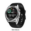 DT91 Smartwatch-Silver-Silicone