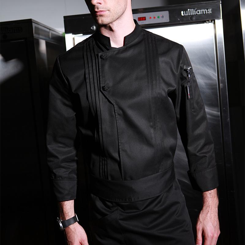 CHECKEDOUT RTS unisex restaurant professional executive long sleeves Executive chef coat