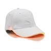 White Cap with Orange Lights