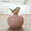 Pink+Gold Bird