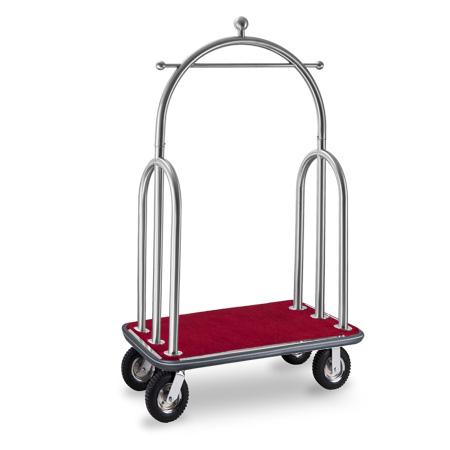 Заводская высококачественная металлическая тележка для багажа из нержавеющей стали