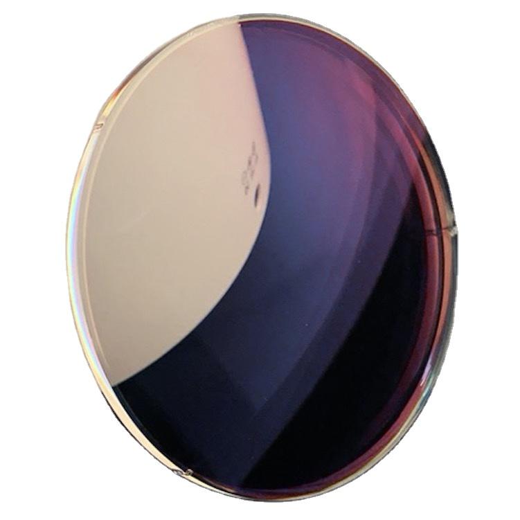 custom 1.60 photochromic grey lens 1.56 anti-blue eye glasses lenses