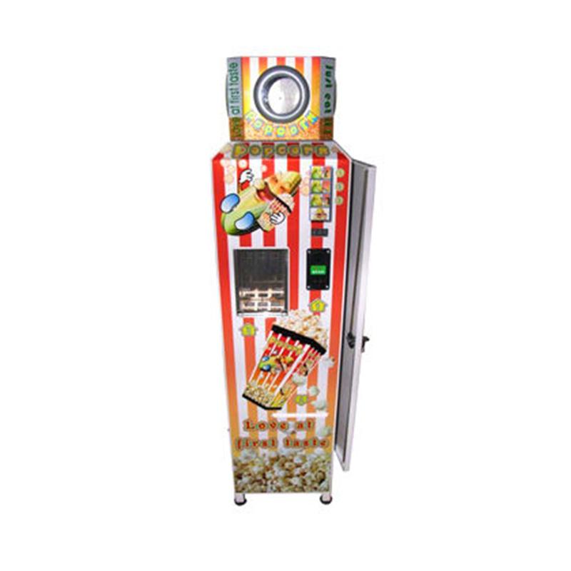 Автомат для продажи попкорна с монетами, торговый автомат для продажи попкорна с монетами