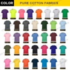 Tshirt T-shirt Shirt Wholesale 100% Cotton Blank O-Neck Tshirt Customize Print LOGO T-Shirt Custom T Shirt Printing