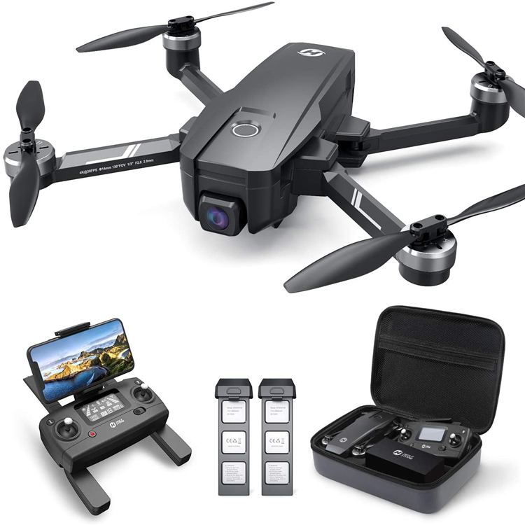 Holy Stone HS720E 4K EIS Drone with FPV Anti-shake Camera for Adults Easy GPS Quadcopter for Beginner Brushless Motor Follow Me