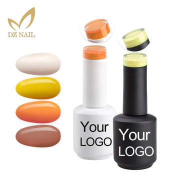 Dz Nail Gel Polish Private Label OEM Soak Off Gel Nail Polish 3Step Customized UV Gel Polish