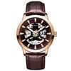 Rose case, brown dial