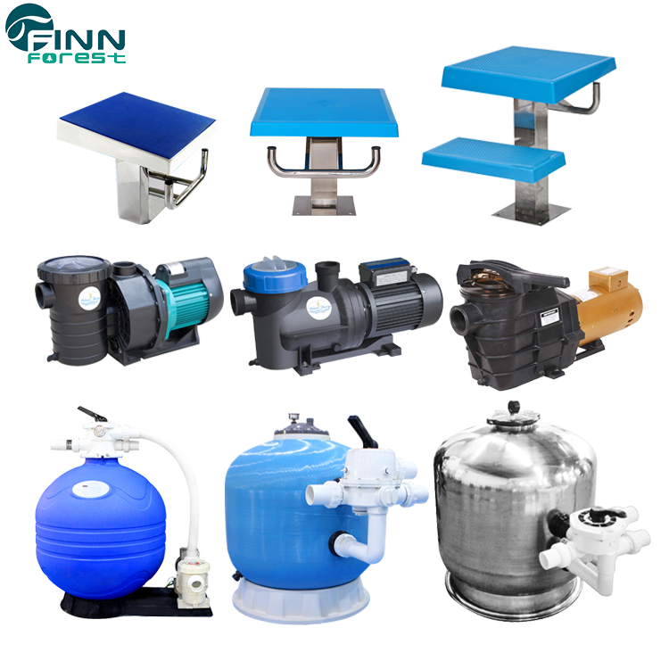 Finn Forest Indoor And Outdoor Swimming Pool Equipments For Sales