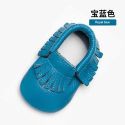 Оптовая продажа, Повседневная красочная обувь для новорожденных ручной работы из натуральной кожи, обувь для малышей от 0 до 2 лет