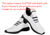 cusotmized BLACK sole