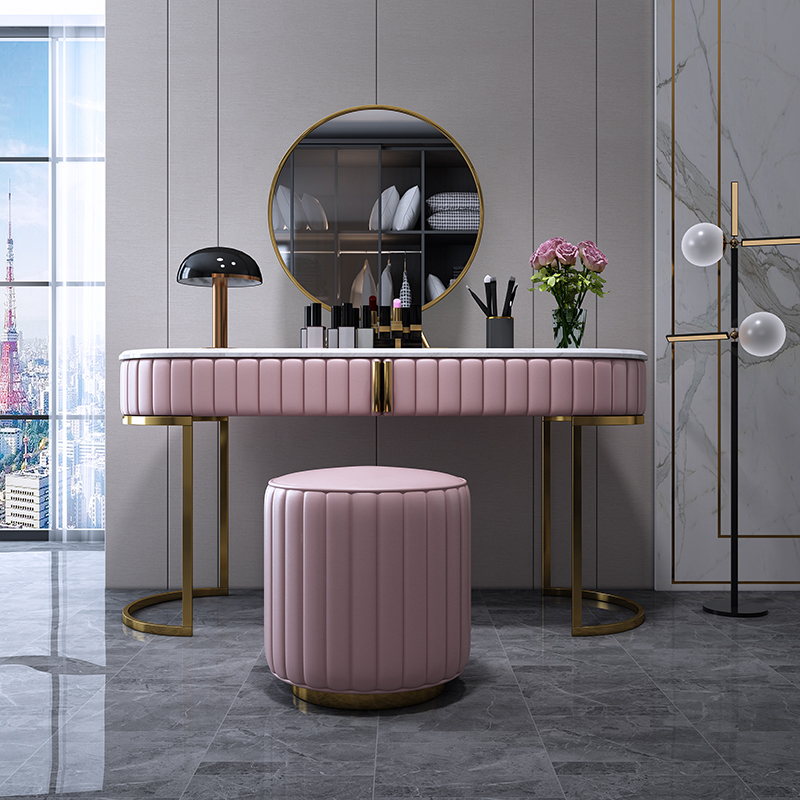Nordic Simple Light Luxury Dressing Table Set Bedroom Dresser Storage Cabinet With Drawers For Vanity Table Bedroom Furniture Buy Dressing Table Girl Makeup Table With Led Light And Mirror Dressing Vanity Table