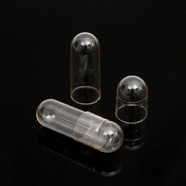 Раздельные прозрачные желатиновые капсулы размера 0 по оптовой цене