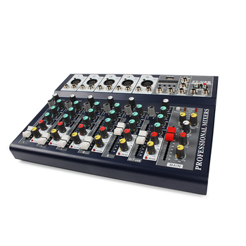 Wholesale Professional 2020 Factory audio dj mixer console Usb Mixing F7-usb