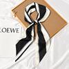 #545 listras largas branco e preto