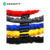 11 piece resistance band tube set with handle door anchor polyester resistance bands fabric logo