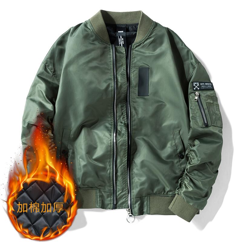 army oversized nylon bomber jacket