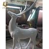 Ciervos escultura