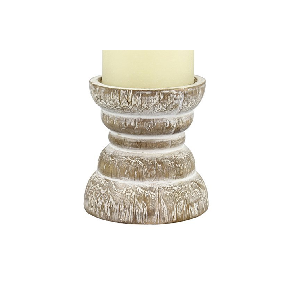 Antique White Dining Table Centerpiece Coffee Tabletop Wooden Candle Holders Buy Fashionable Rustic Wooden Candle Holders Pillar For Spa Reiki Chic Classic Wooden Candlesticks Holder For Meditation Votive Handmade Unique Stylish Wood Craft