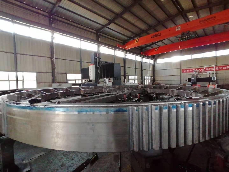 OEM Heavy Duty Casting Steel Large Diameter Ring Gear for Industrial Equipment