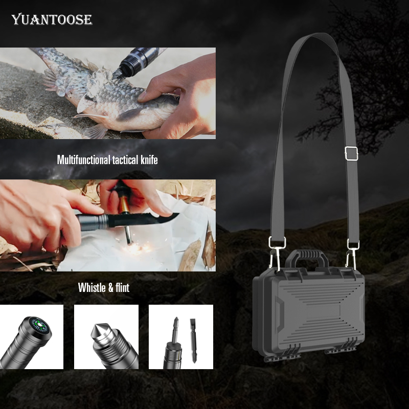 Tactical Survival Camping Axe Shovel Multifunctional Emergency Outdoor Shovel Multitool For Easy To Carry