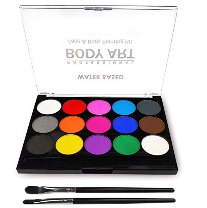 Набор для макияжа с рисунком тела и лица, профессиональная качественная краска для лица для семейной вечеринки и дня Хэллоуина