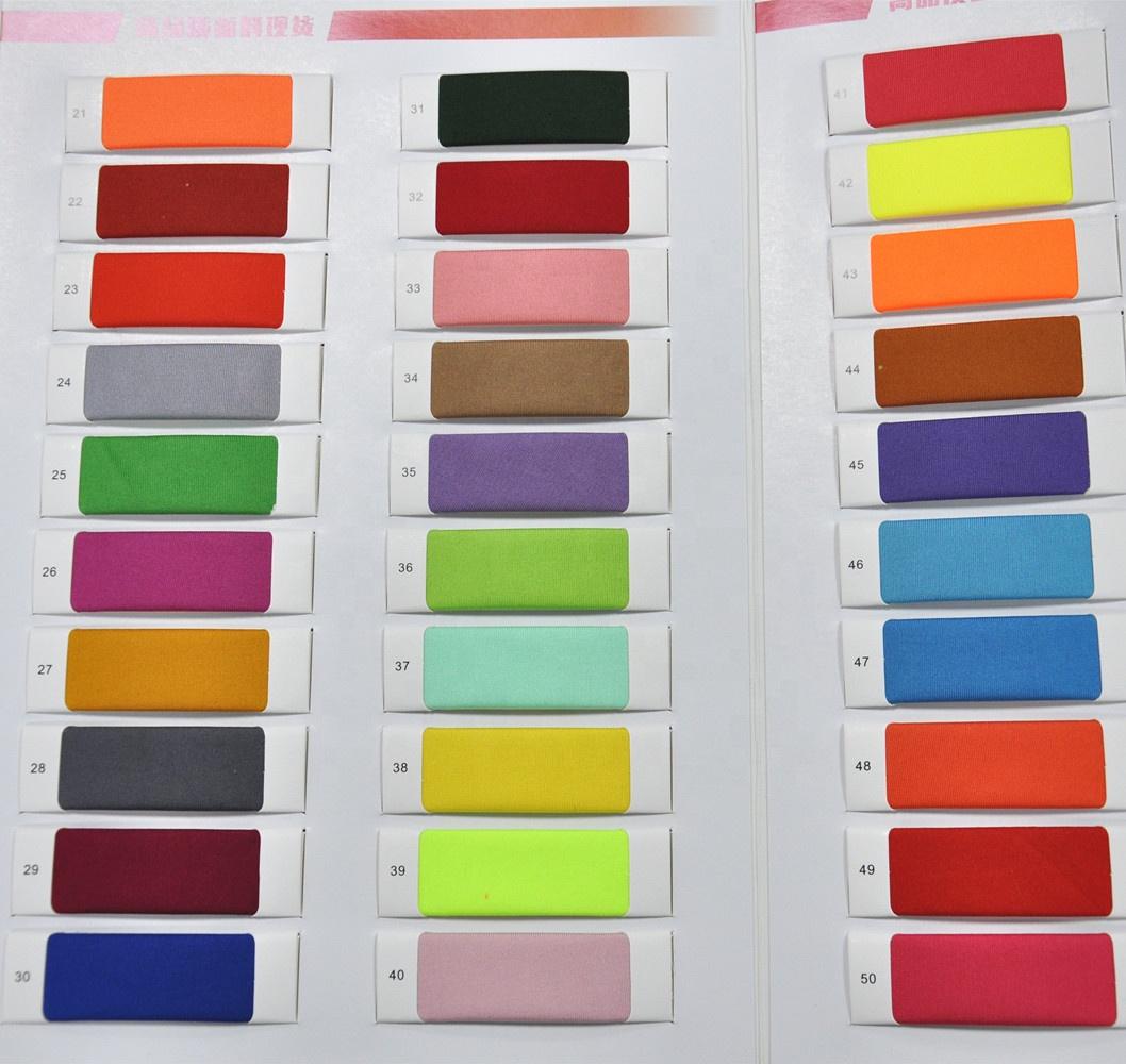 High Quality Wholesale New Design 63 Nylon 37 Spandex Elastic Reusable Satin Fabric